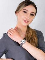 Zegarek damski klasyczny Adriatica Bransoleta A3627.51B3QZ szkło mineralne utwardzane - duże 4
