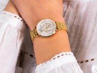 Zegarek damski klasyczny Bisset Klasyczne BSBF32GISX03BX szkło szafirowe - duże 6