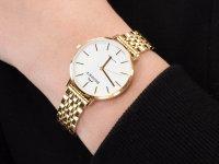 Zegarek damski klasyczny Bisset Klasyczne BSBF32GIWX03BX szkło szafirowe - duże 6