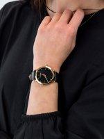 Zegarek damski klasyczny Caravelle Pasek 44L255 szkło mineralne - duże 5