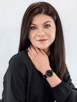 Zegarek damski klasyczny Cluse La Boheme CW0101201011 Rose Gold Black/Black szkło mineralne - duże 4