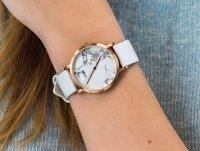 Zegarek damski klasyczny Cluse La Roche CL40110 Petite Oro Rosa Bianco Marmo/Bianco szkło mineralne - duże 6