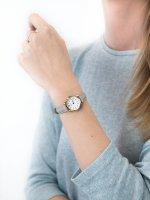 Zegarek damski klasyczny Cluse La Vedette CL50009 Rose Gold White/Grey szkło mineralne - duże 5