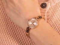 Zegarek damski klasyczny DKNY Bransoleta NY2826 szkło mineralne - duże 6