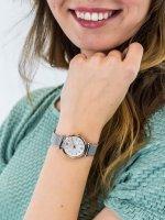 Zegarek damski klasyczny Fossil Carlie ES4614 CARLIE MINI szkło mineralne - duże 5