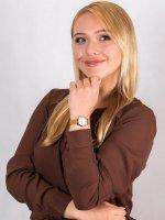 Zegarek damski klasyczny Fossil Carlie ES4835 CARLIE MINI szkło mineralne - duże 4