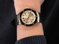 Zegarek damski klasyczny Guess Pasek GW0030L2 szkło mineralne - duże 6