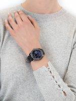 Zegarek damski klasyczny Guess Pasek W1277L1 szkło mineralne - duże 5