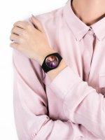 Zegarek damski klasyczny ICE Watch Ice-Duo ICE.016982 ICE duo chic Black purple Rozm. M szkło mineralne - duże 5