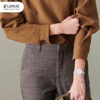 Zegarek damski klasyczny Lorus Klasyczne RG209QX9 szkło mineralne - duże 10