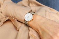 Zegarek damski klasyczny Meller Denka W3R-1GREY Denka Roos Grey szkło mineralne z powłoką szafirową - duże 10