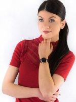 Zegarek damski klasyczny Meller Maya W9RN-1CHOCO Maya Roos Choco szkło mineralne z powłoką szafirową - duże 4