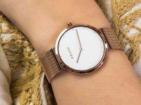 Zegarek damski klasyczny Obaku Denmark Bransoleta V230LXVWMV szkło szafirowe - duże 6