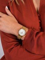 Zegarek damski klasyczny Rubicon Bransoleta RNBE28GISX03BX szkło szafirowe - duże 5