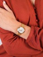 Rubicon RNBE30GISX03BX damski zegarek Bransoleta bransoleta