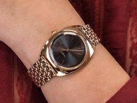 Zegarek damski klasyczny Timex Milano TW2T90500 szkło akrylowe - duże 6