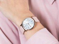 Zegarek damski klasyczny Timex Norway TW2U22700 szkło mineralne - duże 6