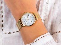 Zegarek damski klasyczny Timex Norway TW2U22800 szkło mineralne - duże 6