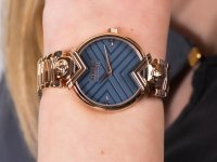 Zegarek damski klasyczny Versus Versace Damskie VSPLH0819 szkło mineralne - duże 6
