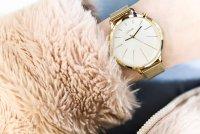 Lorus RG204KX9 zegarek złoty elegancki Fashion bransoleta