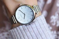 Lorus RG233QX9 zegarek srebrny klasyczny Fashion bransoleta