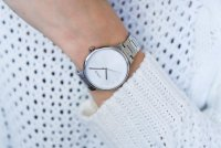 Lorus RG297NX9 zegarek srebrny elegancki Fashion bransoleta