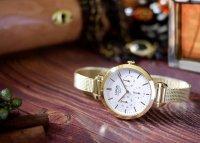 Lorus RP608DX9 zegarek złoty elegancki Fashion bransoleta