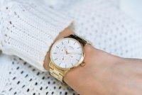 Lorus RP612DX9 zegarek złoty klasyczny Fashion bransoleta