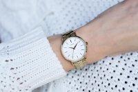 Lorus RG218QX9 zegarek złoty klasyczny Klasyczne bransoleta