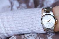 Lorus RG225PX9 zegarek srebrny klasyczny Klasyczne bransoleta