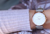 Lorus RG234PX9 zegarek różowe złoto klasyczny Klasyczne pasek