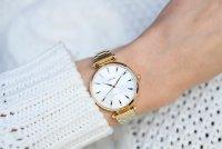 Lorus RG240PX9 zegarek złoty klasyczny Klasyczne bransoleta