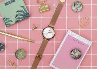 Lorus RG250PX9 zegarek różowe złoto klasyczny Klasyczne bransoleta