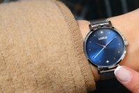 Lorus RG251PX9 zegarek srebrny klasyczny Klasyczne bransoleta