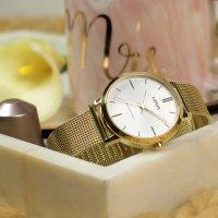 Lorus RG264NX9 zegarek złoty elegancki Klasyczne bransoleta