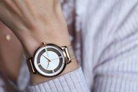 Lorus RG288PX9 zegarek różowe złoto klasyczny Klasyczne bransoleta
