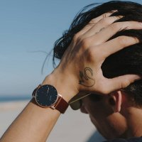Meller 2R-1CHOCO Maori Maori Roos Choco zegarek damski klasyczny mineralne z powłoką szafirową