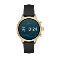 zegarek Michael Kors MKT5053 kwarcowy damski Access Smartwatch Runway Gold Tone and Silicone Smartwatch
