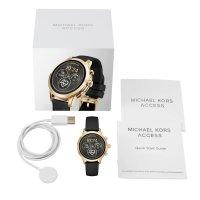 Michael Kors MKT5053 Runway Gold Tone and Silicone Smartwatch zegarek fashion/modowy Access Smartwatch