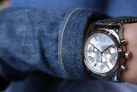 zegarek Michael Kors MK5735 srebrny Lexington