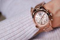 Michael Kors MK5799 zegarek damski fashion/modowy Mini Bradshaw bransoleta