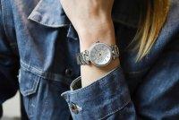 Michael Kors MK5615 zegarek srebrny fashion/modowy Parker bransoleta