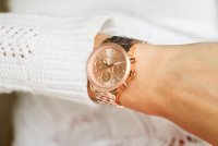 zegarek Michael Kors MK6077 RITZ damski z chronograf Ritz