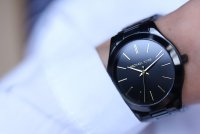 Michael Kors MK3221 zegarek czarny fashion/modowy Runway bransoleta