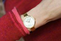 Obaku Denmark V173LXGGMG zegarek damski fashion/modowy Slim bransoleta