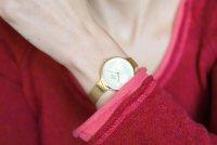 Obaku Denmark V173LXGGMG Slim SKY - GOLD zegarek damski fashion/modowy mineralne