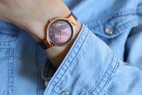 Obaku Denmark V173LXVNMN zegarek damski Slim różowe złoto