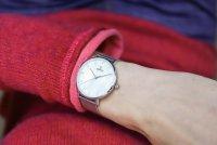 Obaku Denmark V186LXCWMC VEST - STEEL Slim fashion/modowy zegarek srebrny