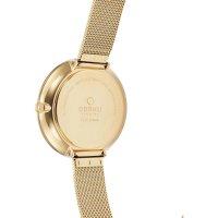 zegarek Obaku Denmark V211LXGIMG złoty Slim