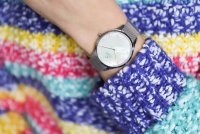 Obaku Denmark V217LXCWMC Slim FIN - STEEL zegarek damski klasyczny mineralne